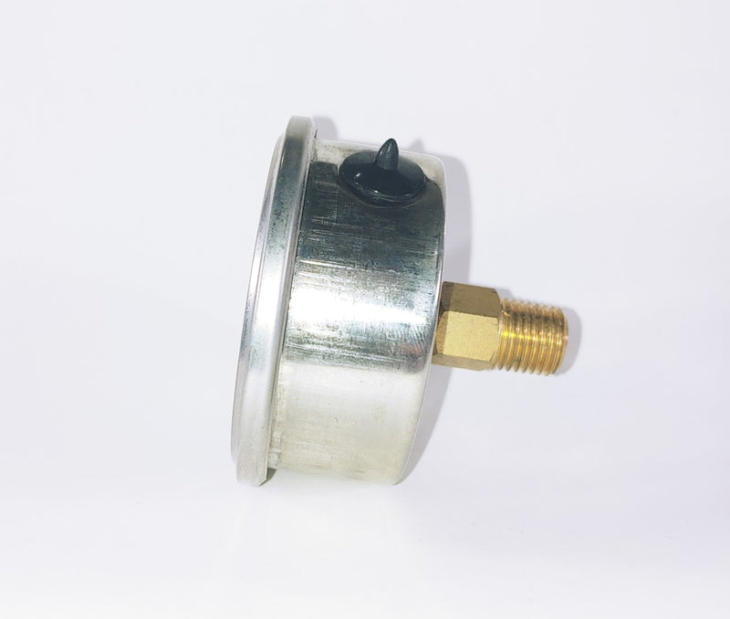 "0-200PSI/BAR-KPA CBM 2-1/2"" Liquid Filled Gauge"