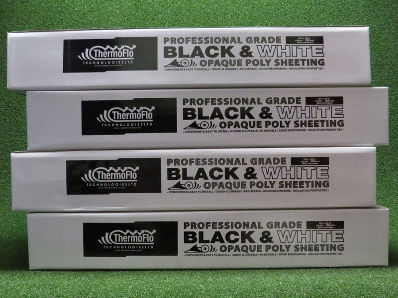 THERMOFLO BLACK AND WHITE PREMIUM POLY