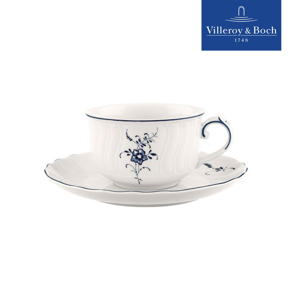 6-Cup Tea Set With Saucers - Old Luxembourg