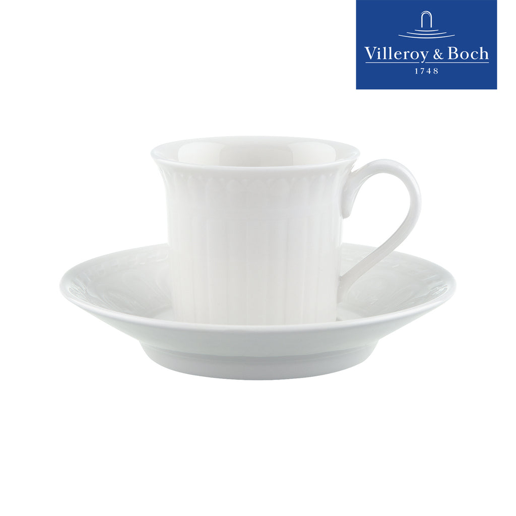 Espresso Cups Set With Saucer - 6 Persons - Cellini