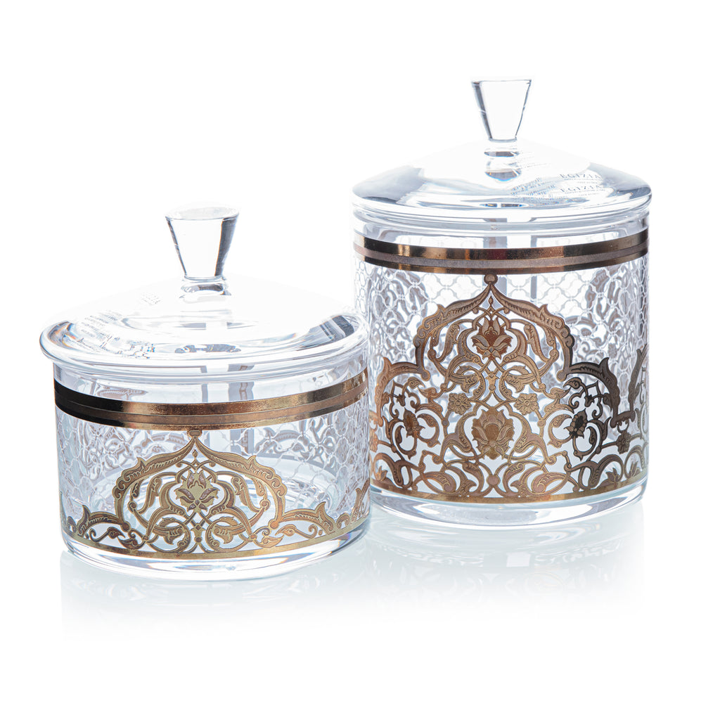 Candy Boxes Set - Intarsio - Egizia - Set Of 2