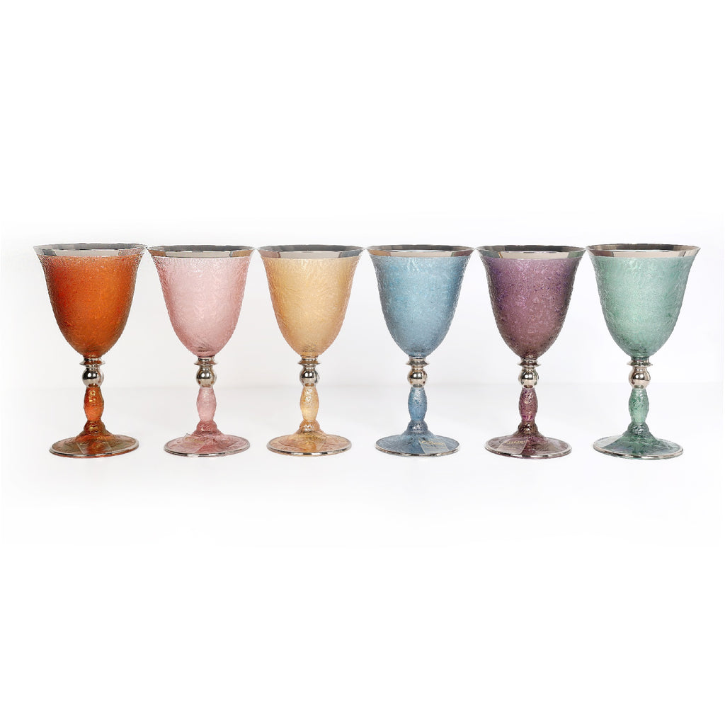 Large Glasses - Frost - Set Of 6