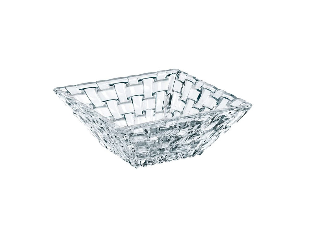 Small Crystal Serving Bowl - Set Of 4