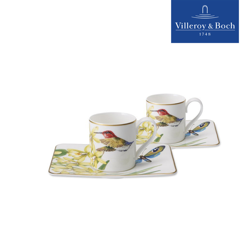 Espresso/Turkish Coffee Cups - Amazonia - Villeroy & Boch - Set For 2 People
