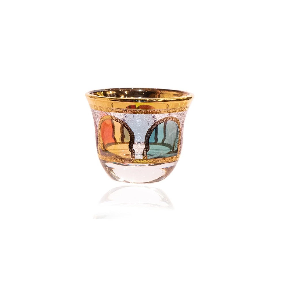 Arabic Coffee Cup - Set Of 6 Pieces