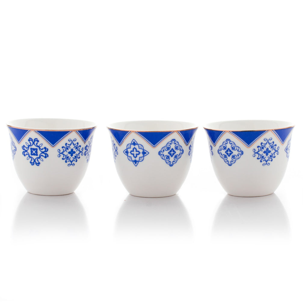 Arabic Coffee Cups - Classic - Set Of 12
