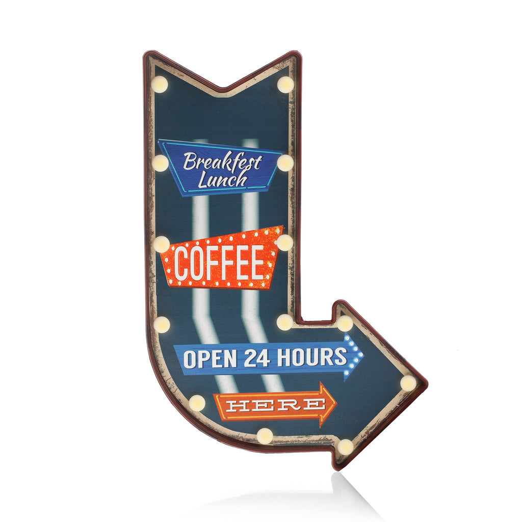 Led Metal Plaques - Chicago
