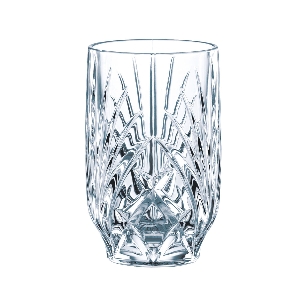 Premium Crystal Glasses - Set Of 12