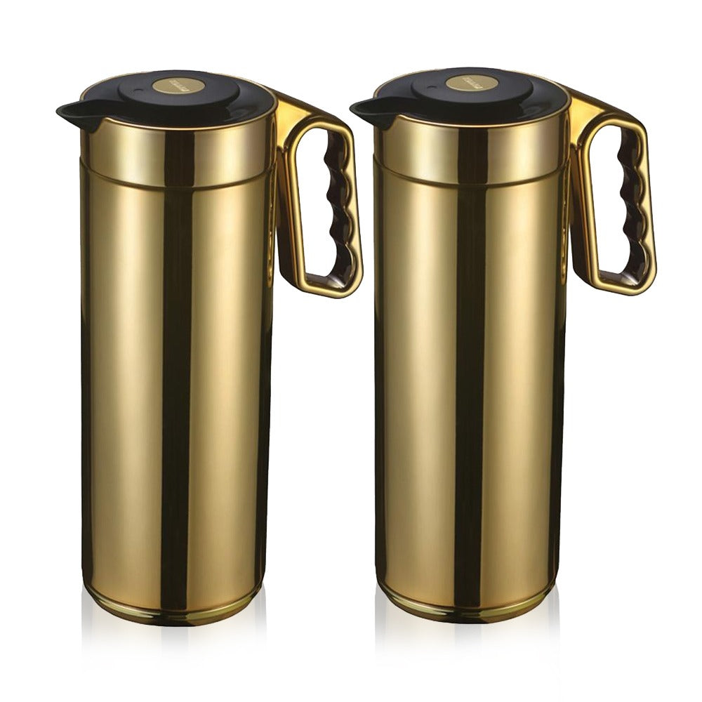 Roomours Thermos - Chrome Design - Set Of 2