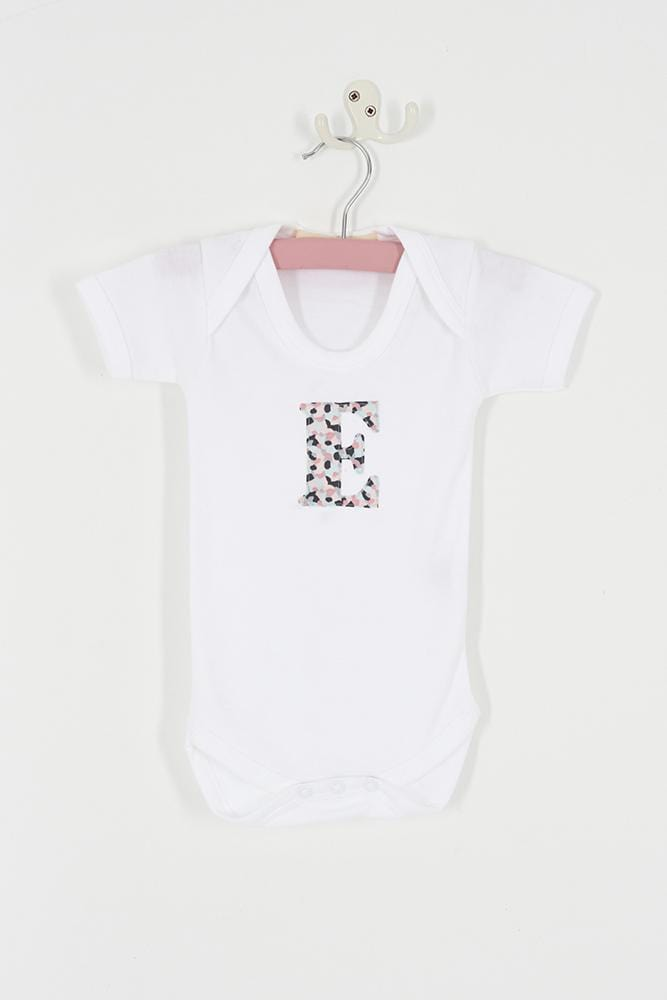 Magnificent Stanley Bodysuit Personalised Bodysuit in Confetti Liberty Print