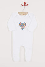 Load image into Gallery viewer, Magnificent Stanley Romper Heart Cotton Romper in choice of Liberty Print