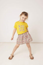 Load image into Gallery viewer, Magnificent Stanley Tee BIG SIS / BIG BRO Yellow T-Shirt in Choice of Liberty Print
