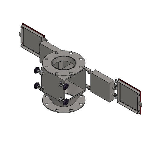 Plate Type Magnetic Chute