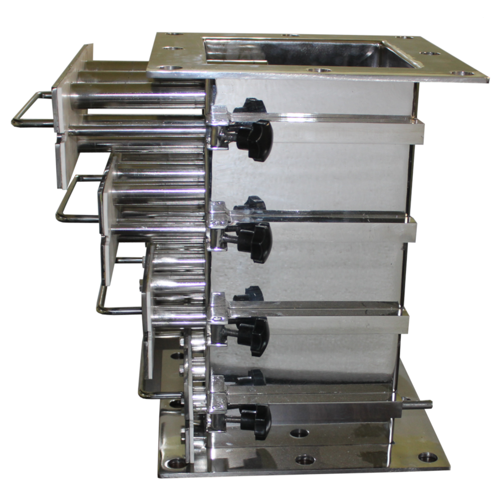 Food industry Drawer type magnetic grill