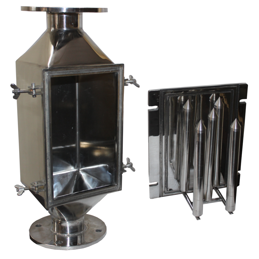 Food industry Magnetic Chute