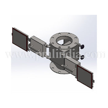 Magetic chute rod fittingPlate-type-magnetic-chute-open-front-view