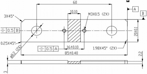 Geometry of R100-bar-03-shunt-resistor