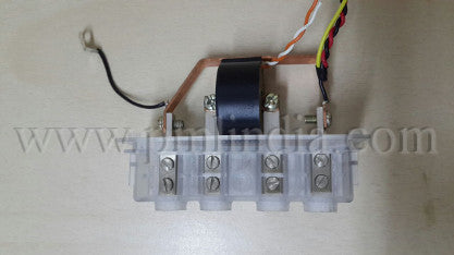 CT terminal assembly for energy meter