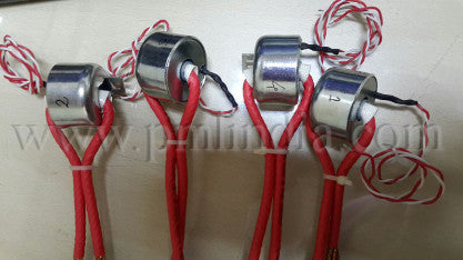 Sub assembly for energy meter with braided wire