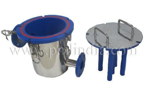 Magnetic filter PTFE Coating other side with lid view