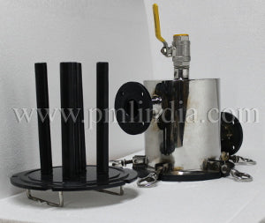 Magnetic filter ETFE Coating base view