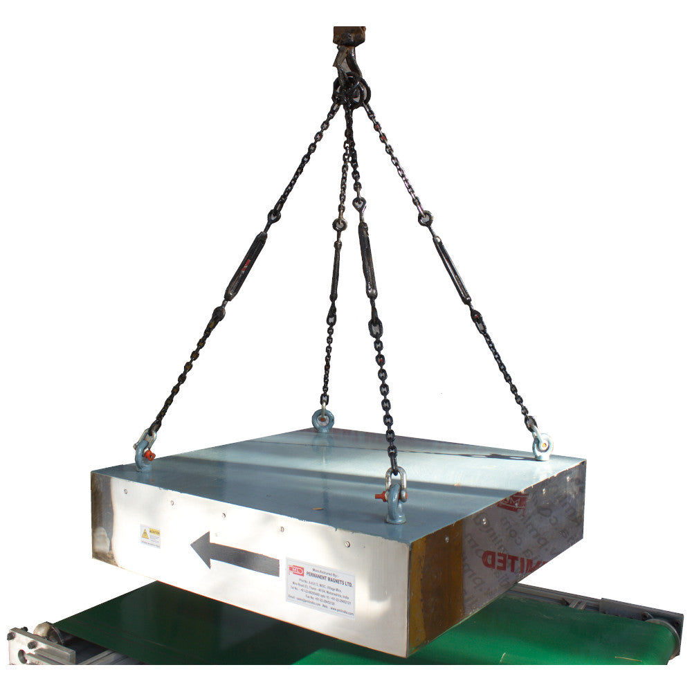 Suspended Permanent Magnet side view