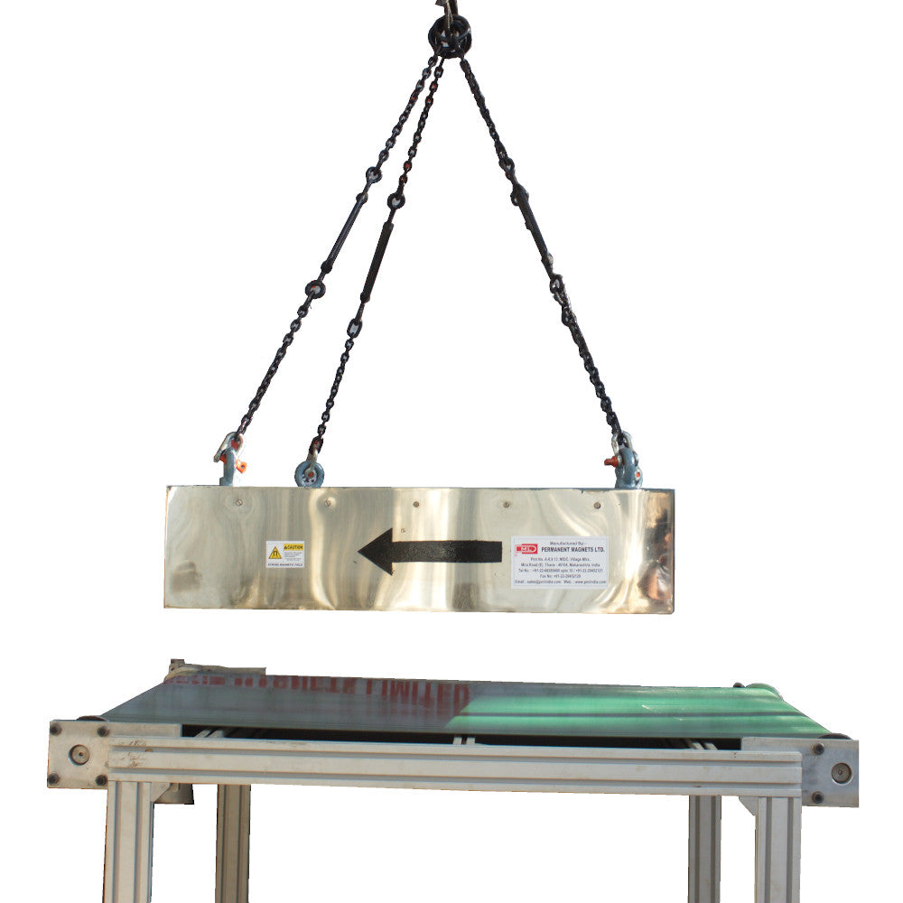 Suspended Permanent Magnet front view