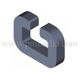 C5-4.5-4.5 Laminated, Soft ferromagnetic Automotive C-Shape Core