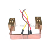 EB welded shunt with braided wire & terminal