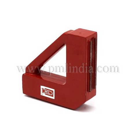 fixed 90° magnetic welding clamp side view