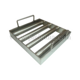 Square magnetic grill