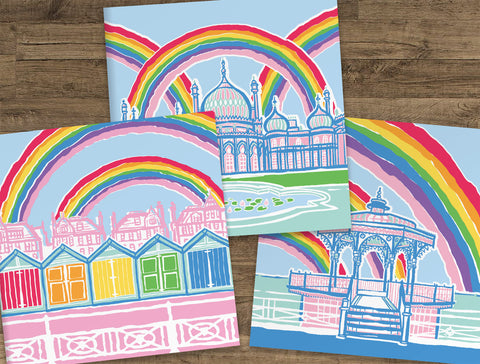 Brighton & Hove Rainbow Cards