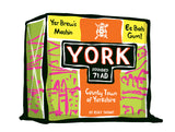 York Tea Box Art Print -  Humorous Tea Pack Art Print, great Kitchen wall Art. York present, Yorkshire gift.  A humorous ink brushed design inspired by your favourite tea brand. The perfect print for the city of York!