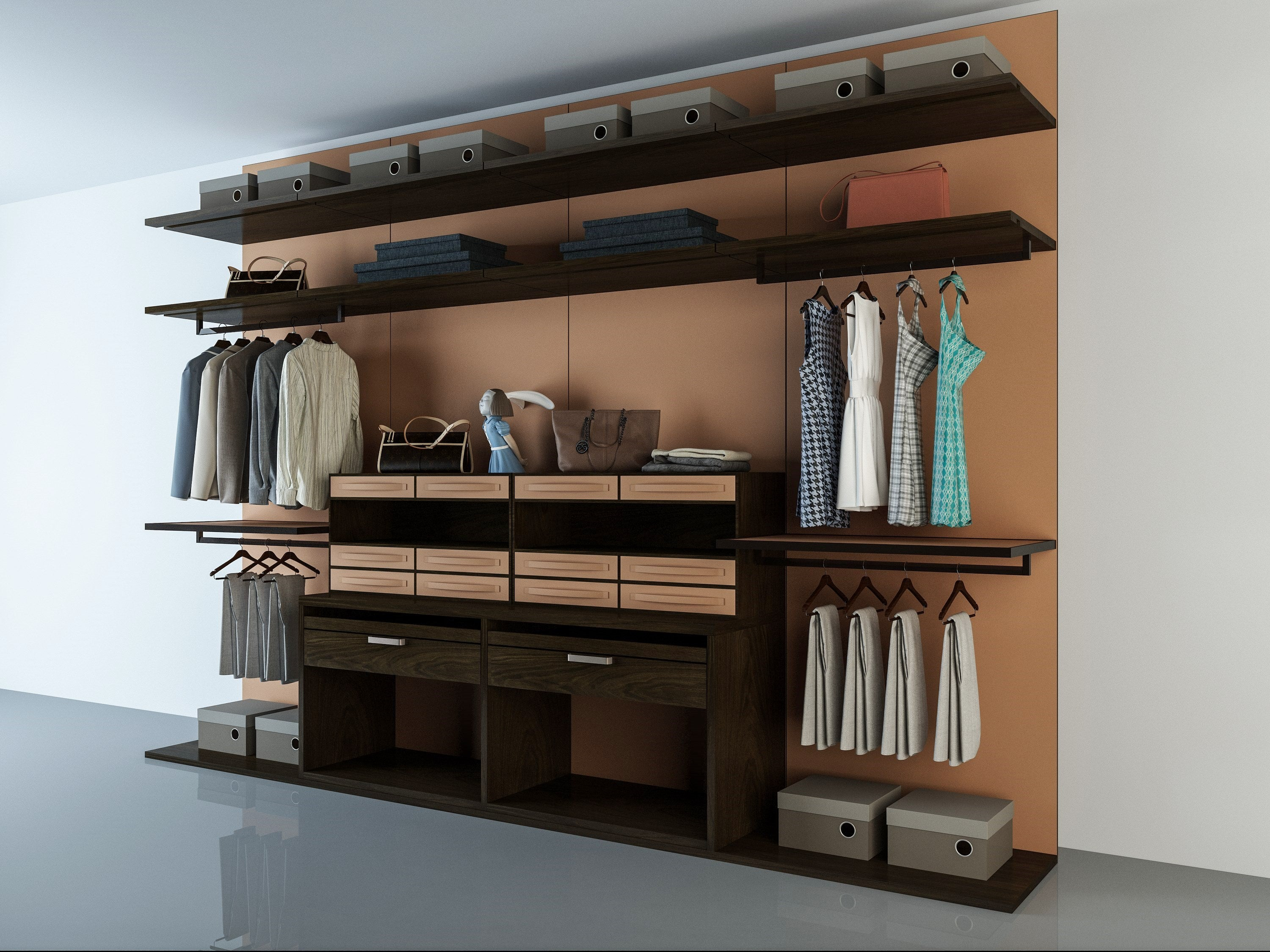 Canvas F - Wardrobe