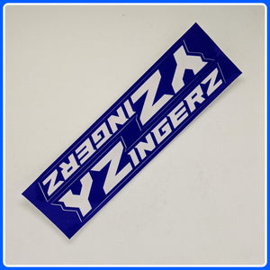 Yzingerz 6-inch stickers