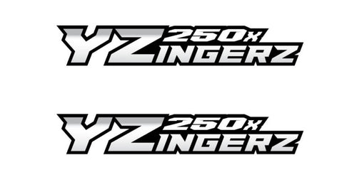 YZingerz YZ250X Swingarm Decal X2