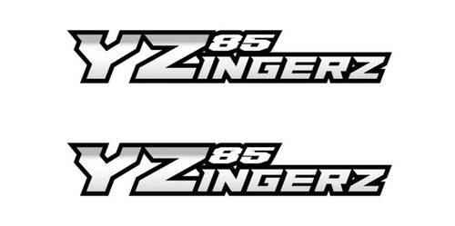 YZingerz YZ85 Swingarm Decal X2