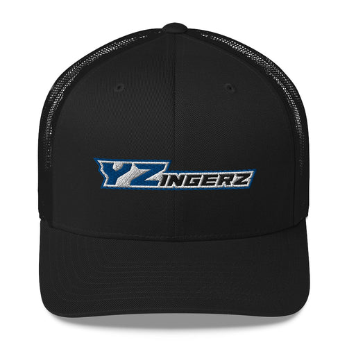 YZingerz 'Black & Blue' Trucker Cap