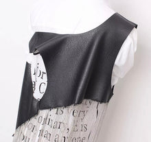 Load image into Gallery viewer, She's a leather Tassel Vest