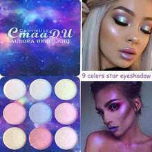 Load image into Gallery viewer, Cosmos Eyeshadow and Highlighter Palette