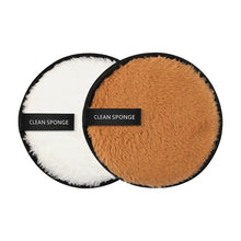 Load image into Gallery viewer, 2Pcs Reusable Plush Make Up Pads