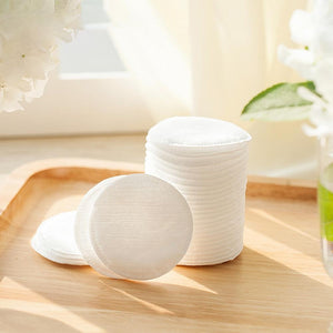 100Pcs Cotton Pads + Storage Box