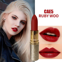 Load image into Gallery viewer, MYG Metal Matte Red Lipstick Range