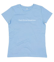 Dark Horse Essential Organic T-Shirt - Baby Blue