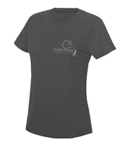 Dark Horse Logo Pro-Tech Air T- Shirt - Charcoal