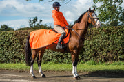 Neon Fleece Exercise Sheet - Orange