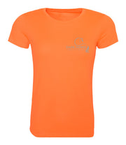 Dark Horse Logo Pro-Tech Air T- Shirt - Neon Orange