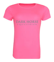 Dark Horse Team Pro-Tech Air T- Shirt - Neon Pink