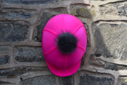 High Visibility Hat Silk  - Pink