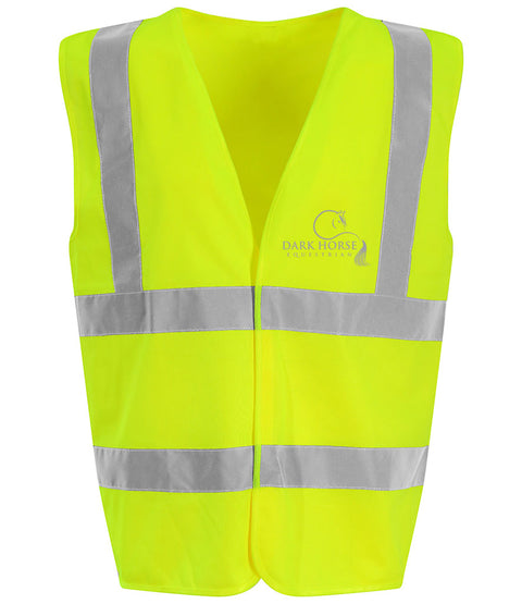 High Visibility Vest Adult - Yellow